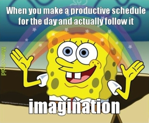 spongebob productivity